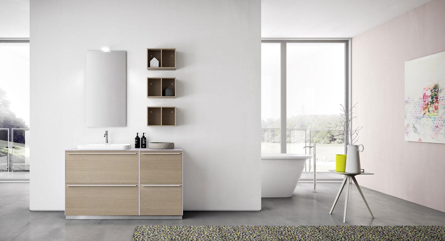 La linea alma di arbi arredobagno criver ceramiche - Outlet mobili bagno milano ...