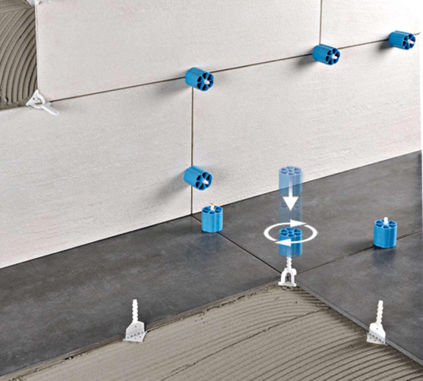 Progress profiles sistema di livellamento per la posa di - Distanziatori per piastrelle ...