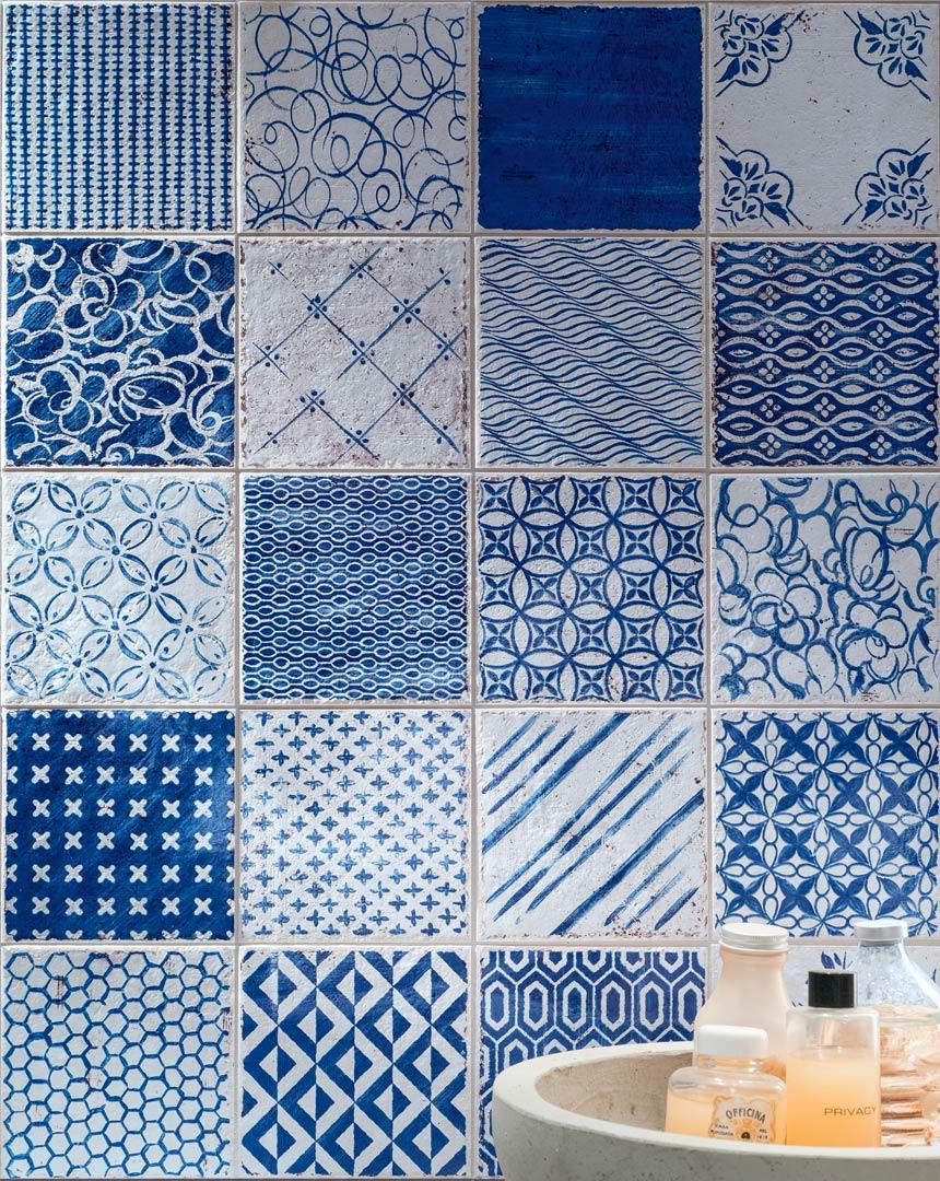 Hmade mirage criver ceramiche - Piastrelle 15x15 bianco lucido ...