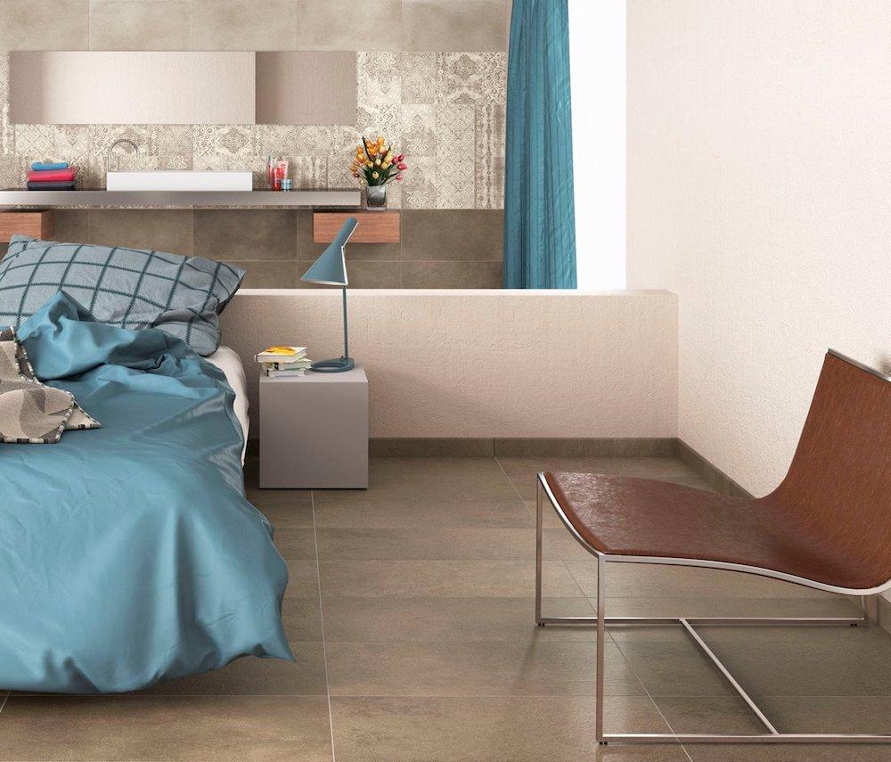 Herberia Ceramica - Timeless Ecru e Antracite 40x80