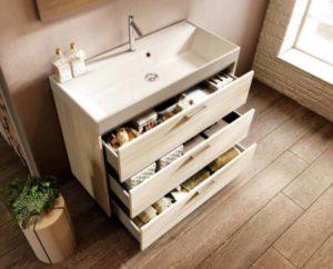 Mobile da bagno XL - Progetto Idea Stella